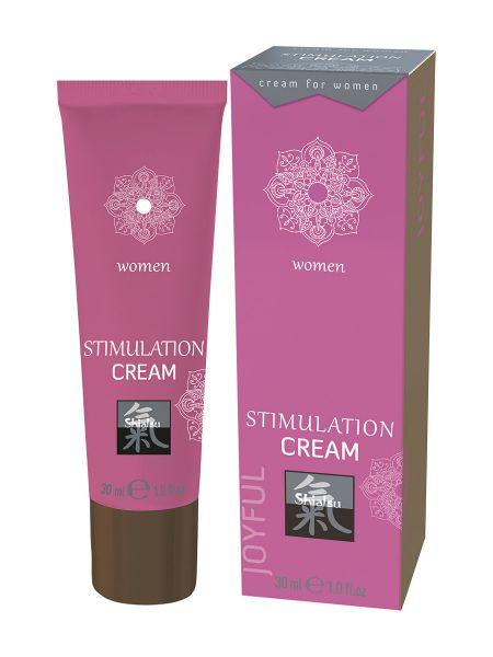 Shiatsu Stimulation Cream Woman: Intimcreme für Sie (30ml)