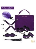 Rianne S Kinky Me Softy: Bondage-Set 7-teilig, lila