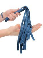 Ouch! Denim Flogger: Peitsche, jeans-blau