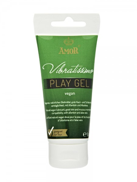 Gleitgel: Vibratissimo Play Gel Vegan (50ml)