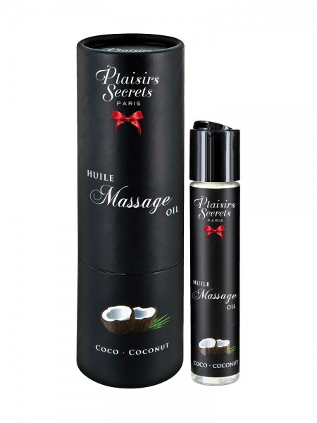 Plaisirs Secrets Coconut: Massageöl (59ml)