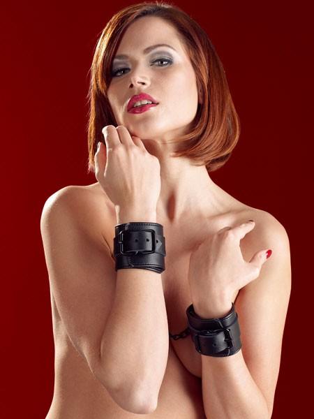 Bad Kitty Handfesseln, schwarz