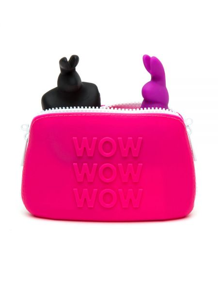 Happy Rabbit: Zip-Bag Wow, pink