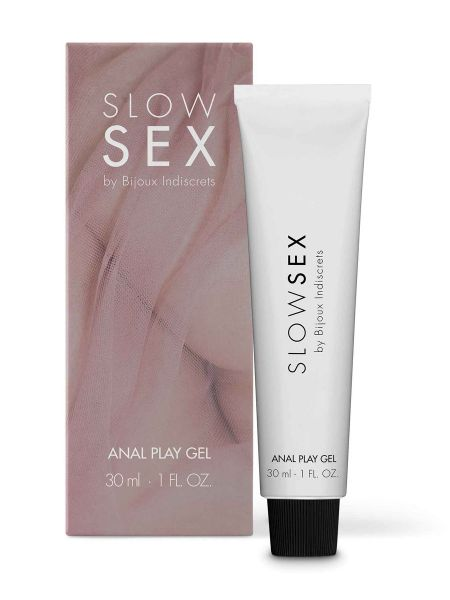 Bijoux Indiscrets Slow Sex Anal Play Gel: Analgleitgel (30ml)