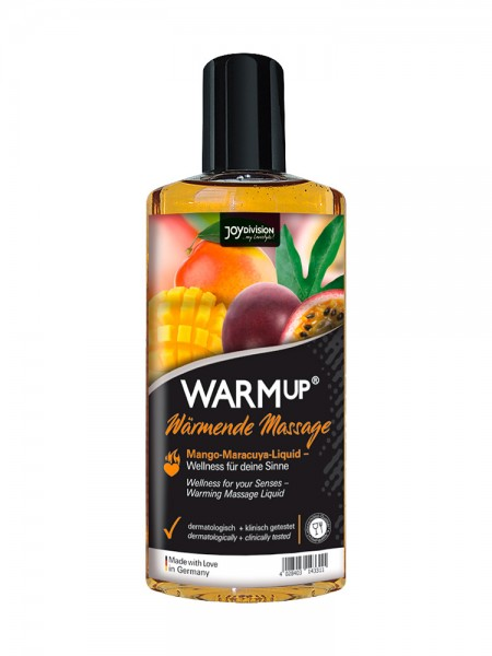 WARMup Massageöl: Mango & Maracuja (150ml)