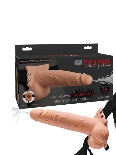 Fetish Fantasy Strap-On Squirting 21,6cm: Strap-On-Dildo, haut