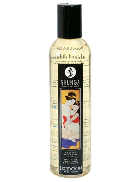 Shunga Massageöl: Excitation Orange (250ml)