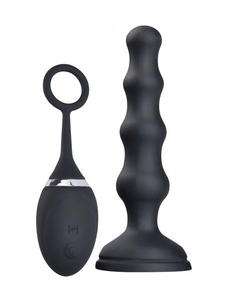 Hot Fantasy Felicity Talis: Anal-Vibrator mit Fernbedienung, schwarz