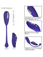 Intimate E-Stim Remote Kegel Exerciser: Elektro-Vibroei, blau