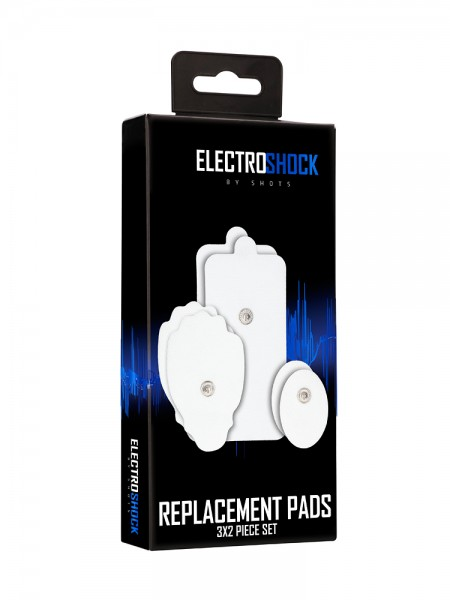 Electro Shock Replacement Pads: Klebepads, weiß