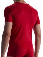 Olaf Benz RED1864: V-Neck-Shirt, rot