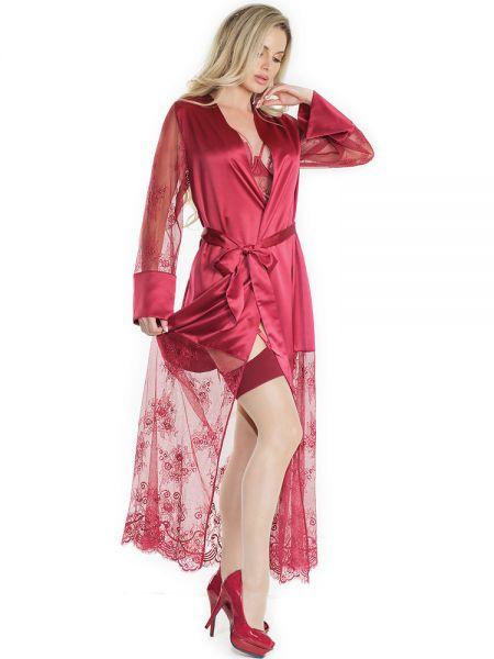 Coquette Kimono: Merlot Treasures, merlot