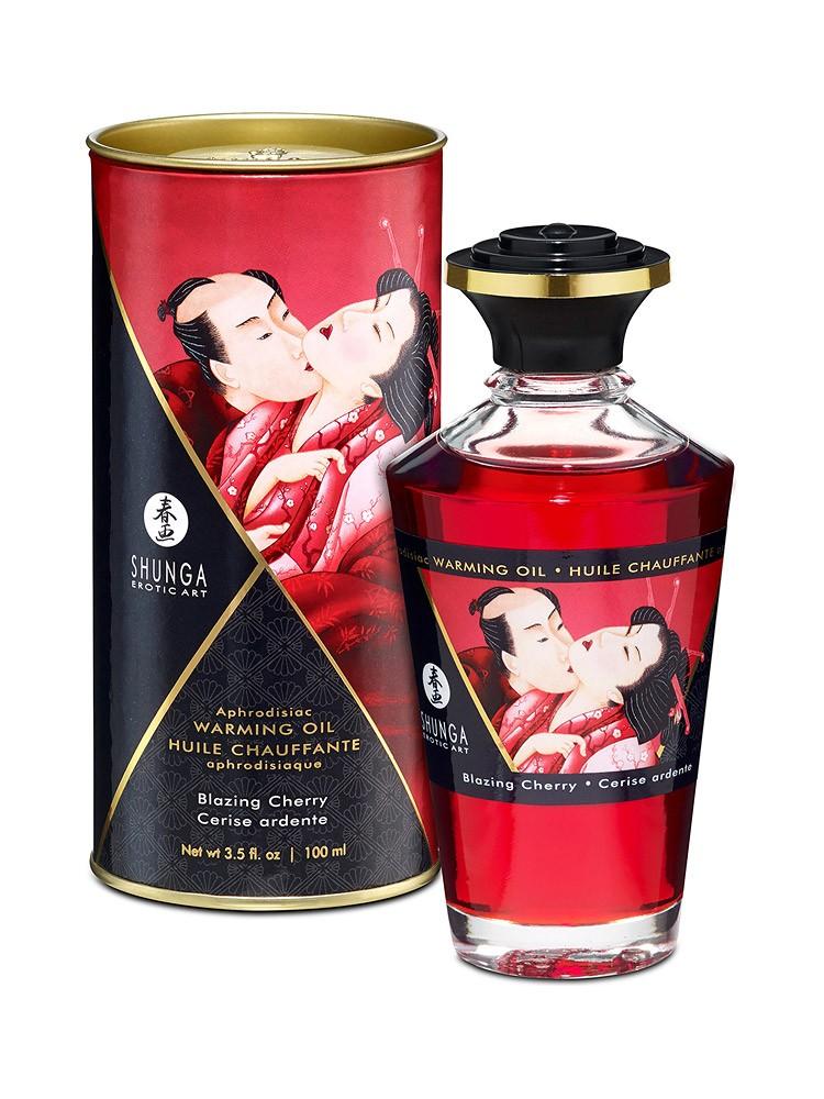 Shunga Intimate Kisses �l Cherry: Körperöl (100ml)