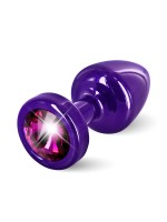 Diogol Buttplug Anni Round: Analplug (25mm), lila/pink