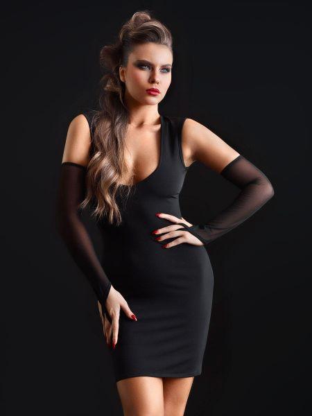 Patrice Catanzaro Brittany: Minikleid, schwarz