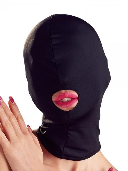 Bad Kitty Kopfmaske mit Mundöffnung, schwarz