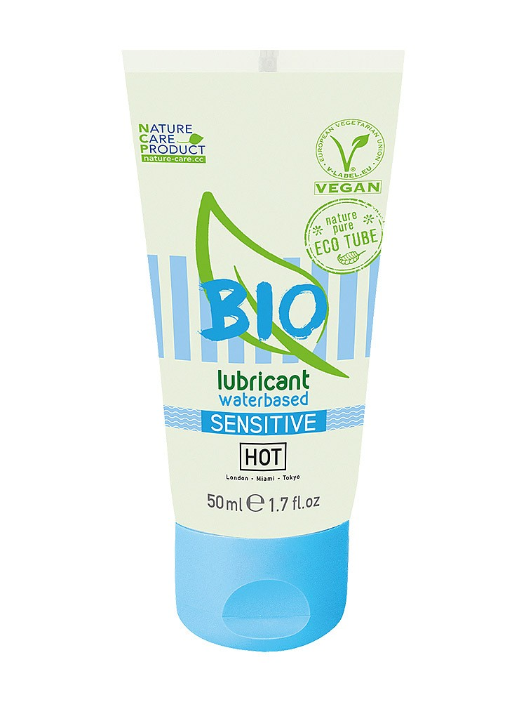HOT Bio Waterbased Sensitiv: Gleitgel (50ml)