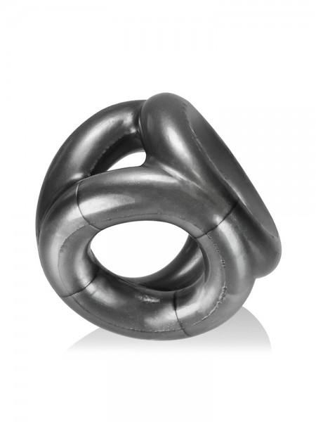 Tri-Sport Cocksling: Penis-/Hodenring, silber