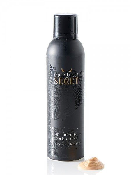 Dirty Little Secret Shimmering Body Cream: Bodylotion (200ml)