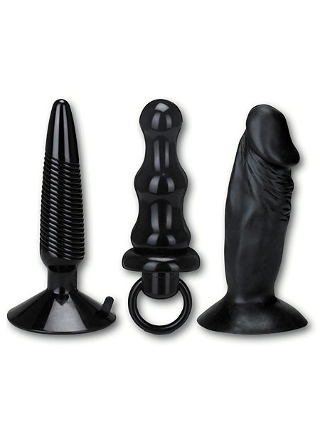 Humper: Analplug-Set, schwarz
