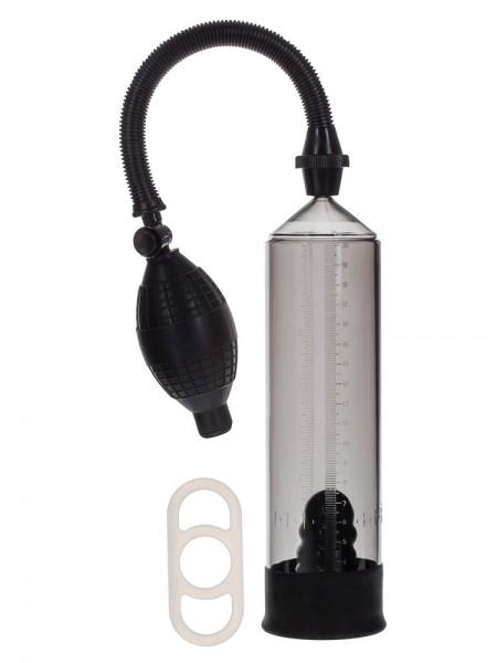 Apollo Trainer Kit: Penispumpe, transparent/schwarz