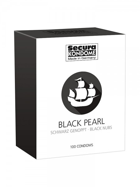 Secura Black Pearl: Kondome, 100er Pack