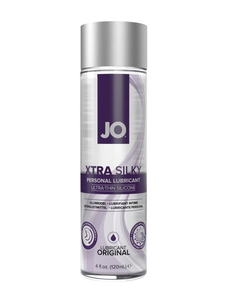Gleitgel: System JO Xtra Silky Thin Silicone Lubricant (120 ml)