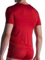 Olaf Benz RED1817: V-Neck-Shirt, rot