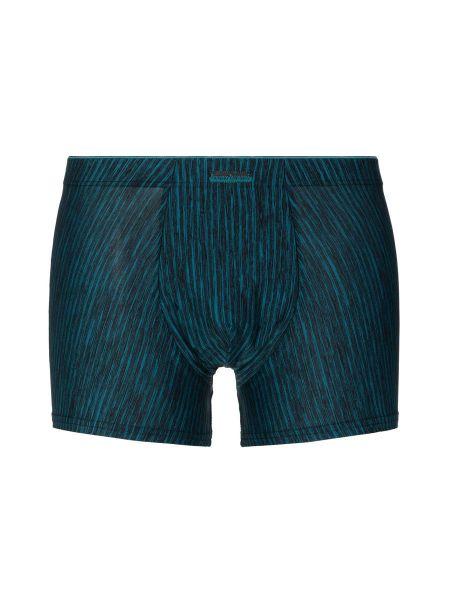 Bruno Banani Lava Field: Shortpant, schwarz/petrol stripes
