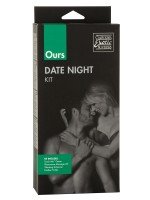 Our Date Night Kit: Vorspielset mit Vibro-Penisring, schwarz/pink