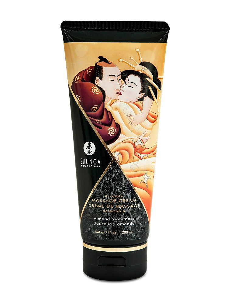 Shunga Kissable Massage Cream Almond Sweetness (200ml)