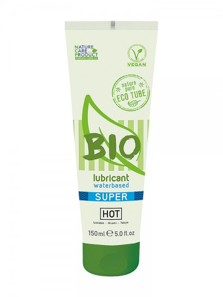Hot Bio Waterbased Super: Gleitgel (150ml)