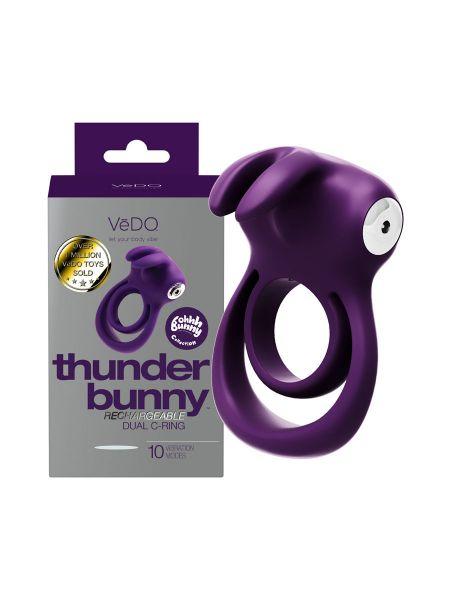 VeDo Thunder Bunny: Vibro-Penisring, lila