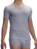 Olaf Benz RED2059: V-Neck-Shirt, grau