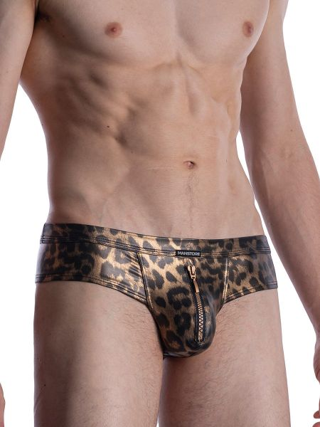 MANSTORE M2003: Zipped Brief, wild