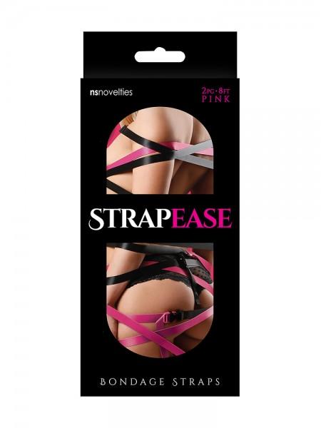 Strapease Bondage Straps pink (2,4m)