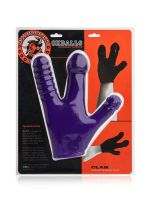 Oxballs Claw Glove: Dildo-Handschuh, lila