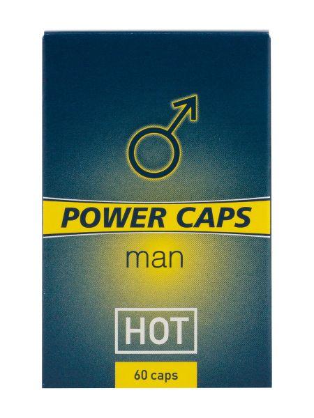 HOT Power Caps für Ihn, 60 Stück