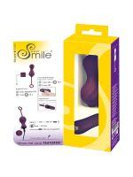 Sweet Smile Remote Controlled Love Balls: Vibro-Liebeskugeln mit Fernbedienung, lila