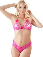 Dessous-Set, pink
