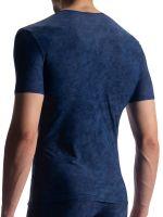 Olaf Benz RED1911: V-Neck-Shirt, arctic