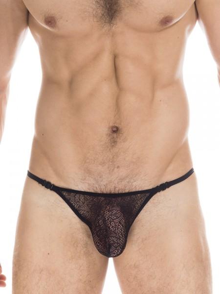 L'Homme Axel: Stripstring, schwarz
