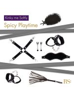 Rianne S Kinky Me Softy: Bondage-Set 7-teilig, schwarz