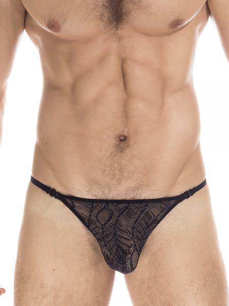 L'Homme Anton: Stripstring, schwarz