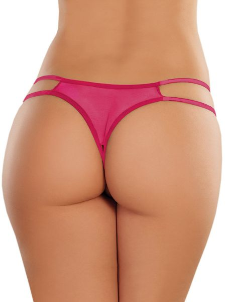 Adore Sweet Honey: Ouvertstring, pink