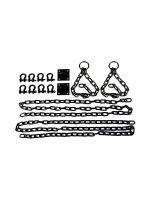 Lodbrock Chain Set: Kettenset 14-teilig, schwarz