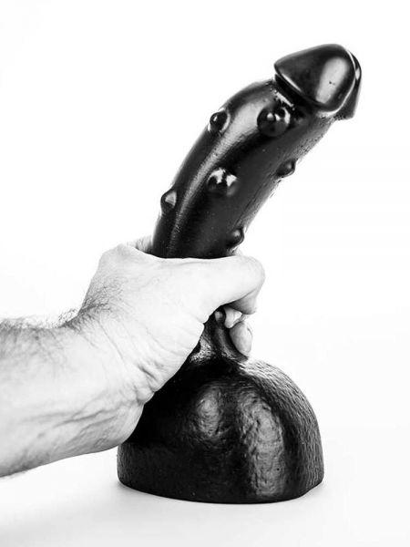 Bubble Toys Pimpy: Dildo, schwarz