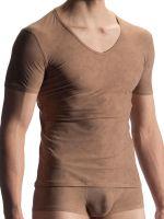 Olaf Benz RED1911: V-Neck-Shirt, ivory