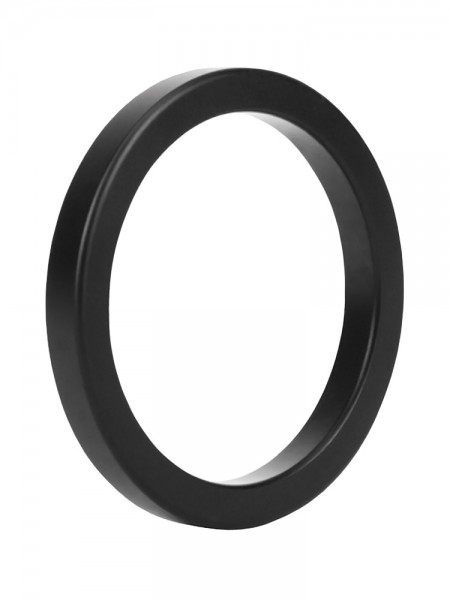Malesation Metal Ring Black Stamina: Aluminium-Penisring, schwarz