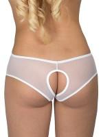 Eros Veneziani Allegra: Ouvert-Panty, weiß